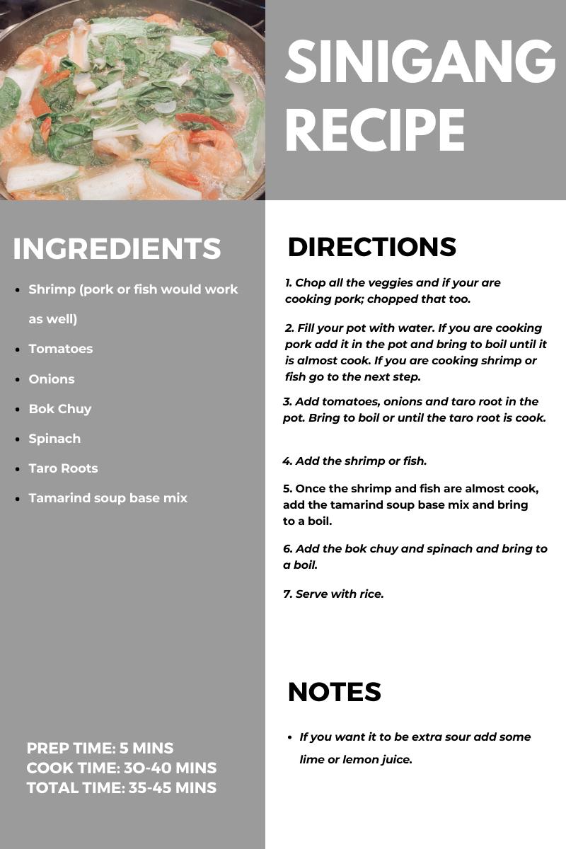 Sinigang Recipes